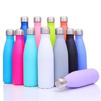 304 из нержавеющей стали Вакуумная чашка Теплоизоляционная бутылка для воды Термо чашки 7 Цветов Cola Design Protable Hiking Keettle DHL