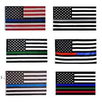 3x5ft Black American Flag Polyester No Quarter Will Be Given US USA Historical Protection Banner Flag Double-Sided Indoor Outdoor OWF10399