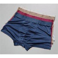 Culotte 3 Pack 100% Pure Silk Knit Boxer Boxer Taille L XL 2XL 3XL SG104
