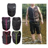 Life Vest & Buoy Universal Adults Kids Neoprene Jacket Ski Swim Canoeing Drifting