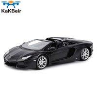 Kakbeir 1:24 Aventador LP700-4 رودستر الرياضة سيارة ثابت يموت المركبات النادرة نموذج سيارة اللعب 210607