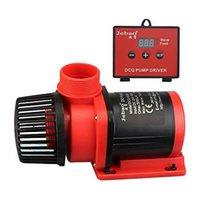 JEBAO DCQ ACQ LCD Pantalla LCD Controlable DC Retorno Bomba de agua para el acuario marino Sumador de pescado Fish Wave Maker Bombas de aire Accesorios