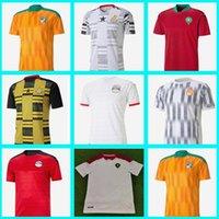 2020-- 2021 مصر M.salah 10 صلاح العاج ساحل غانا المغرب لكرة القدم الفانيلة 20 21 الرئيسية قمصان كرة القدم جيرسي