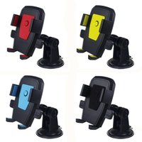 Car Mount Universal Windshield Dashboard Mobile Phone Holder with Strong Suction Cup X Clamp for IPhone XR XS Max X Samsung S9