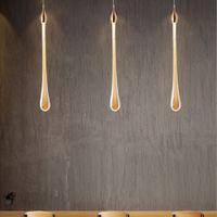 Luxo moderno lâmpada de cristal de cristal para escadaria grande ouro design de gota de ouro conduzido cristal longa villa lobby pendurado luminária de iluminação