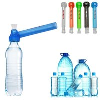 Portable Plastic Removable Water Pipe Wholesale Hookah Shisha Glass Pipes For Smoking Accessories Party Favor