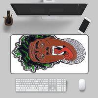 Mouse Pads & Wrist Rests Gunna Sticker Lockedge Large Gaming Pad Computer Gamer Keyboard Mat Hyper Beast Mousepad For PC Desk
