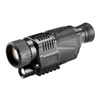 5x40 Digital Infravermelho Night-Vision Goggle Scope para caça telescópio longo alcance com câmera tiro vídeo gravando vídeo (US PLUG