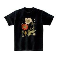 Женская футболка растений футболка 100% хлопок женщина футболки летние повседневные женские TEE Harajuku свободные дамы верхняя готическая футболка эстетическая одежда