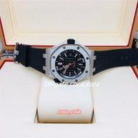 Moda impermeável relógios de alta qualidade 42mm mergulhador de borracha de aço inoxidável transparente Cal.3120 Movimento Mecânica Mãos Automático Assistir relógios de pulso dos homens K8-1