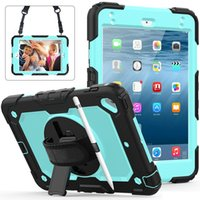 Heavy Duty Defender Rugged Armor Tablet Protective Case Cases for iPad Mini 4 5 Air 3 Pro 10.5 Cover Shockproof Anti-knock