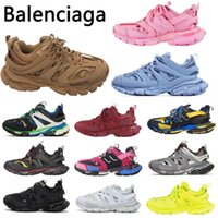balenciaga TRACK 3.0 Balencaiga Balencga 3M Läufer Schuh 2 Männer Frauen Gelb Rosa Blau Outdoor Sport Casual Schuhe Trainer Turnschuhe 36-45TCRE #