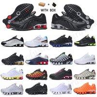 [Con caja] 2021 zapatillas de deporte para hombre SHOX Speed 301 Run Shoes TL Triple Negro Neon Gold Game Royal Comet Red Bred Og Mujeres Hombres Deportes Entrenador de deportes Jogging al aire libre Caminando caminando entrenadores