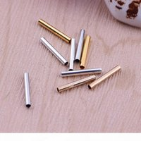 Fashion Copper 4 Colors Tube Connectors For Jewelry Handmade Making Necklace Tubes Pendant Connecting Findings Accessories Wholesale