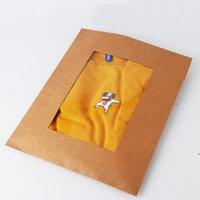 Souches de soleil ménagers Kraft Paper Sacs A4 Dossier de fichier Dossier Épaissi Enchère Informations sur le personnel Plastique Storage Fournitures OWD8916