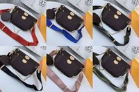 3 개의 멀티 액세서리 럭셔리 디자이너 어깨 가방 패션 크로스 바디 핸드백 지갑 여성 크로스 바디 3 조각 Pochette 세트 체인 여자 가방 PC가 상자