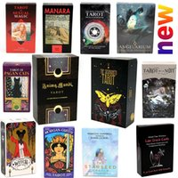 78 Cartões Wizards Cartão de Tarot Jogo Essencial O Anjo Responde O Bem-Estar Ilha Do Oracle Wellness Love Deck Toy