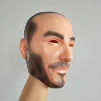 할로윈 파티 코스프레 유명한 남자 데이비드 베컴 얼굴 마스크 라텍스 진짜 인간의 멋진 현실적인