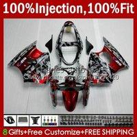 Molde de inyección de cuerpos rojos de camuflaje OEM para Kawasaki Ninja ZZR600 05-08 ZX ZZR-600 600 CC 05 06 07 08 Cowling 38hc.8 ZZR 600 600CC 2005 2006 2007 2008 100% FIT KIT DE AJUSTE