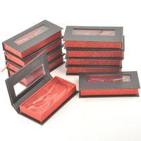 False Eyelashes 10 30 100pack Wholesale LashesBoxPackaging Eyelash Packaging Box Makeup Package Case 25mm Magnetic Vendors