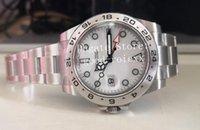 男性メンズウォッチ40mm 42mm BPファクトリーブラックホワイト216570アジア2813メカニカルデート226570 BPFアンティーク16570エクスプローラ214270サファイアの腕時計