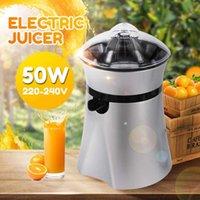 220-240V 전기 Juicer 스테인레스 스틸 감귤류 오렌지 과일 레몬 압착기 주스 추출기 압착기 마시는 기계 캠프 부엌