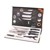 Coltelli da cucina Design high-end Design a 6 pezzi Damascus Steel Kitchens Kitchens Set di coltelli