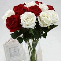 신선한 장미 진짜 터치 인공 꽃 웨딩 파티 생일에 대 한 홈 장식 WLL682