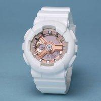 Men's Womens Electronics Montres Fashion Sports Couple Montre Quartz LED Dual Dual Affichage Horloge numérique Montre