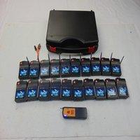 20 Cues Fireworks Système de tir Smart Smart Remote Party Fournitures Mariage Commutateur de mariage Cadeau de Noël Machine de théâtre 433mHz