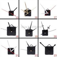 Wall Clocks Silent Large Clock Quartz Movement Mechanism Hands Repair Tool Parts Kit Set DIY 27 Types