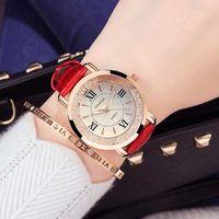 Mens Watches Luxury Watch Women's fashion waterproof luminous Korean simplified belt quartz