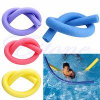 Rehabilitación de playa Aprender Piscina Fideos Agua Float Aid Woggle Nadado Flexible 6.5 * 150 cm