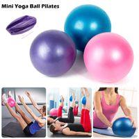 Спортивные ямы для йоги Круглые взрывозащищенные матовые Mini 25см Фитнес-пилатес бедро мяч Формирование оборудования для обучения для бодибилдинга