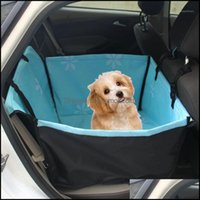 Ers Supplies Home & Gardenwaterproof Pet Carriers Dog Car Seat Er Travel Carrying For Puppy Cats Mat Blanket Rear Back Hammock Protector Cus