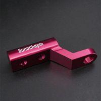 Porte-téléphone portable supports de support de motocyclette d'expansion de la moto Vue arrière de la barre de guidon Adaptateur de montage motorf