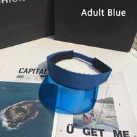 Mulheres Verão UV Proteção Sol Visor Plástico Chapéu Mulheres Sunhat Golf Sport Headband
