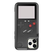 36 Custodie telefoniche da gioco per iPhone 12 11 Pro XR XS MAX Schermo a colori Portatile portatile console di gioco con console protettive antiurto anti-caduta Dropshipping