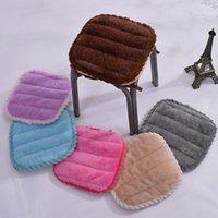 Almofada / travesseiro decorativo 30 * 30/35 * 35 cm pequenos tamborete almofada inverno plash kindergarten assento antiderrapante patram quadrado sentado miúdo de plástico