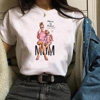 남자 달콤한 의류 girlmom 티셔츠 패션 숙녀 엄마 생활 어머니 망 그래픽 여성 인쇄 만화 톱
