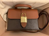 Borsa in vera pelle di alta qualità Blocky BB Presbyopia Totes Blocco Blocco postino Borse da borse da borse da borse da donna portatile