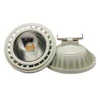 Dimmable COB 15W AR111 G53 GU10 LED 스포트 전구 울트라 밝은 높은 전력 85 ~ 265V 램프 보증 2 년 Downlights
