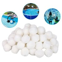Pool & Accessories White Filter Ball Swimming Cleaning Water Fiber Cotton Balls Lightweight High Strength Tools