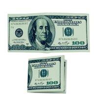 2019 New Novel Money Clip Men Women Pu Leather Paper US Dollar Euro Boy Girl Wallet Slim Mini Purse Student Cheap Gift Coin Bag