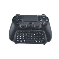 Wireless Keyboard For Sony Playstation 4 PS4 Pro Controller Gamepad Mutilfunction Bluetooth-compita Chatpad Message Keyboard Y1013
