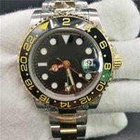 Les montres de luxe désintination Hommes 40mm 116713 Date Machines automatiques Mouvement de Machines à balayage Céramique Bezel Relogio Masculinino Oyster