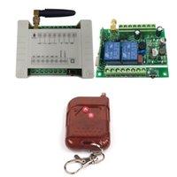 스마트 홈 컨트롤 12V-36V 2CH 무선 RF 원격 스위치 수신기 릴레이 모듈 차고 도어 / 셔터 / 라디오 / 프로젝터 12V 24V 36V