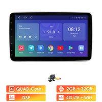 Autoradio Universal 1 DIN 10inch Screen Screen DVD Player Stereo Video GPS WIFI Auto Radio Android Video Player DVBT