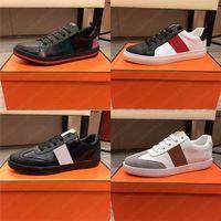 Männer Ass Leder Sneaker Green Red Stripe Gestickte Schuh Luxurys Designer Goldene Bienen Designer Runner Trainer Italien Geprägte Casual