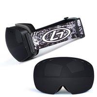 نظارات التزلج uv400 حماية مزدوجة layersyewear مكافحة الضباب قناع التزلج كبير نظارات الثلج رجل الثلج رجل التزلج في الرياضة في الهواء الطلق